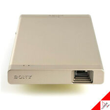 Sony MP-CL1A Small Portable Beam Projector HD 1920x720 Mobile Laser Screen GOLD