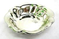 Vintage Elite WMF Silver Plated Footed Trinket Bowl Made In Germany