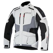 Alpinestars ANDES V2 Drystar Grey/Black Motorcycle Textile Touring Jacket