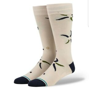 STANCE BUTTER BLEND WITH INFIKNIT SONIC BLOOM DRESS SOCK LARGE OVER CALF A645A20