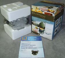 Brand New in Box!•Kitchen Living•Breakfast Sandwich Maker•Ready in 5 Minutes•New