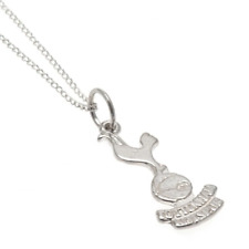 Tottenham Hotspur FC Sterling Silver Pendant & Chain   OFFICIAL