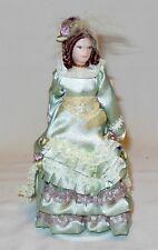 "Porcelian Victorian Mother 6"" Tall Dollhouse Miniature People"