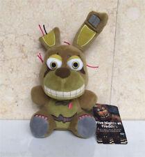 "New FNAF Five Nights At Freddy's Springtrap BUNNY 6"" Plush Toy Doll"