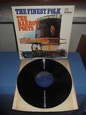"""The Barrow Poets """"The Finest Folk"""" LP FONTANA UK"""