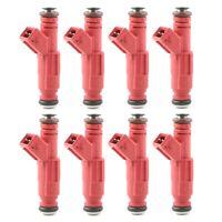 8 Pcs Set 30lb 315CC EV1 Style Fuel Injectors Replaces 0280150945 High Impedance