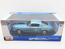 Lot 17166 | Maisto 31167 1968 FORD MUSTANG GT Cobra Jet DIE-CAST 1:18 NUOVO IN SCATOLA ORIGINALE