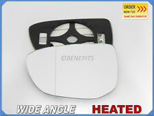 Wing Mirror Glass For CITROEN C-ELYSEE 2012-2016 Wide Angle HEATED Left #N030