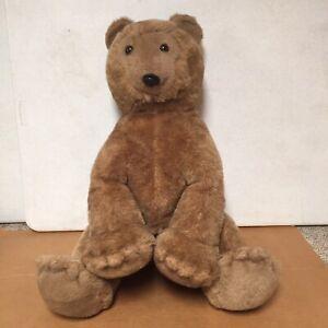 """Vintage 1976 Dakin Pillow Pet Teddy Grizzly  Bear Brown Giant 27"""" Plush Stuffed"""