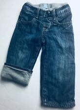 BABY GAP Boys Pull On 1969 Jersey Lined Jeans Size 12-18 Months