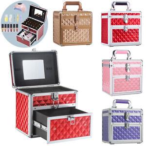 Nail Polish Bottle Box Cosmetic Varnish Vanity Makeup Beauty Kit Storage Case