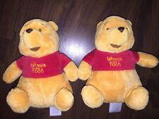 1 Stück- H&M Winnie The Pooh Teddybär Gelb Rot Kuscheltier Plüschtier Stofftier