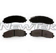 NewTekPosiTek Premium HD Disc Pad w/Hardware fits 2013-2016 Ford F-250 Super Dut