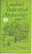London's Industrial Archaeology London Transport booklet 1970s vintage