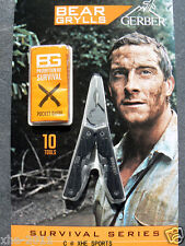 Authorized Gerber Bear Grylls Survival Compact Pocket Multi Tool Knife 0750