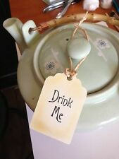 Drink Me Vintage Style Alice In Wonderland Tags Set Of 10