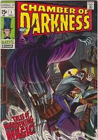 (1969 MARVEL) Chambers of Darkness comic book #1 VG