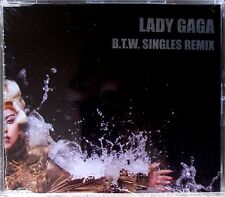 LADY GAGA * BORN THIS WAY SINGLES REMIX * MEXICO 10 TRK PROMO CD * BN & SEALED!