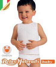 CANOTTIERA BAMBINO CRABYON RelaxMaternity Baby INTIMO BIMBI 6-36 MESI NEONATO