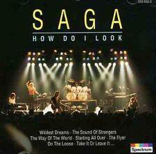 How Do I Look by Saga (CD, Dec-1996, Universal/Polygram) ITEM-187]