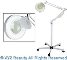 5x Magnifying 16 Diopter Rolling Mag Lamp Light Facial Skin Care Salon Equipment