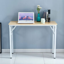 Computer Desk PC Laptop Table Study Workstation Wood Home Office Furniture White
