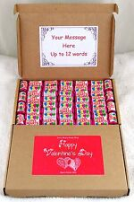 48 Swizzles Mini Love Hearts Retro Valentine's Day Sweets Gift Set Personalised
