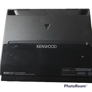 Kenwood KAC-8105D 500 Watt Performance Series Mono Subwoofer Amplifier Class-D