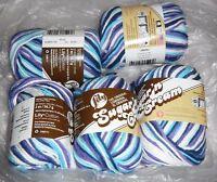 "5 Skeins, Lily, ""Sugar 'N Cream"", Moondance, Crochet & Knitting,100% Cotton Yarn"