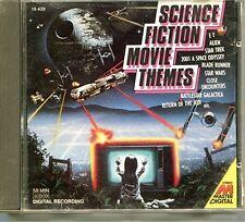Science Fiction Movie Themes E.T., Alien, Star Trek, 2001.. [cd]