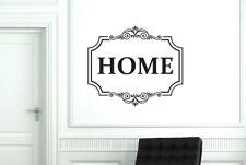 Classic Home Schild Vinilo Pegatinas De Pared Adhesivo Decoración