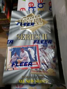 1994 Fleer ULTRA Series 2 Baseball Factory Sealed 36 Pack Box