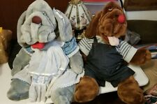 Ganz Wrinkles Plush Dog Puppets