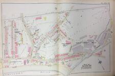 1894 EAST FALLS PHILADELPHIA UNIVERSITY QUEEN LANE RESERVOIR ATLAS MAP