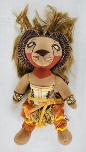 THE LION KING Broadway Musical SIMBA Lion Plush Stuffed Animal toy doll Disney