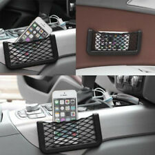 Universal Car Seat Side Back Mesh Net Storage Bag Phone Holder Pocket Organizer