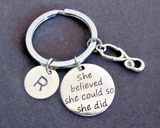She believed she could so she did,Nurse Gift Keyring Nursing Graduation Keychain