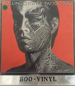 The Rolling Stones - Tattoo You - 1981 A3-B3 Vinyl LP Record VG+ / VG+