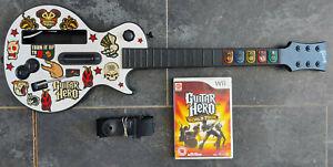 Guitar Hero Nintendo Wii + Guitar Hero World Tour Game
