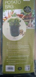 Potato Grow Bag Home Garden Vegetable Planter Pot Garland
