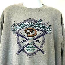 Arizona Diamondbacks Baseball Sweatshirt 2XL Gray 2002 MLB Lee Heavyweight Grey