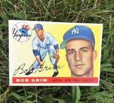 1956 Lot Yankees Topps Baseball Card #80 109 38 20