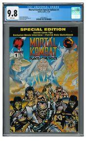 Mortal Kombat Special Edition #1 (1994) Malibu Comics CGC 9.8 JZ119