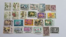 25 Different Malay States Stamp Collection - Perak