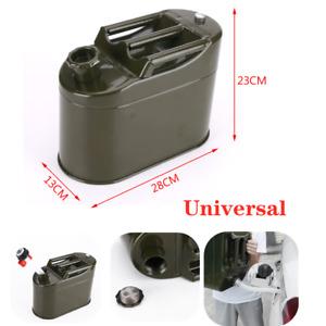 Motorcycle Fuel Tank Metal Vertical Barrel Tank Car Petrol Container Can 5000ML