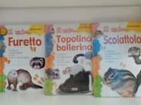 Lotto 5 libri animali - Il mio topolino, furetto, canarino, scoiattolo...