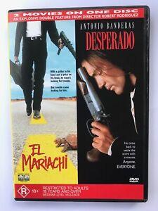 El Mariachi & Desperado (2 Movies, 1 Region 4 DVD, Antonio Banderas)