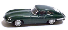 JAGUAR E TYPE 1961 - By HIGH SPEED - Scala 1:87 - DARK GREEN