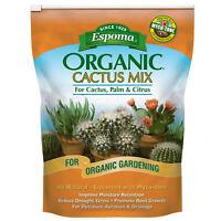 Organic Cactus Potting Mix For Cactus Succulents Palm Citrus Container Plants
