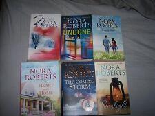 Nora Roberts lot of 6 paperback books